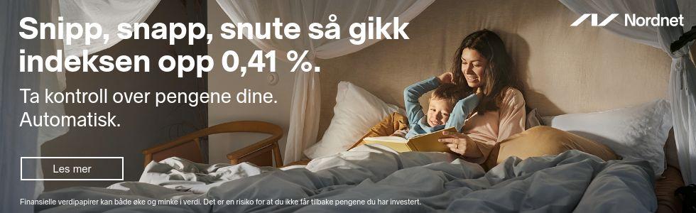 Annonse for Nordnet
